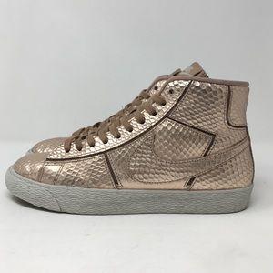 Nike Womens Blazer Mid Cut PRM Bronze Snake Pack
